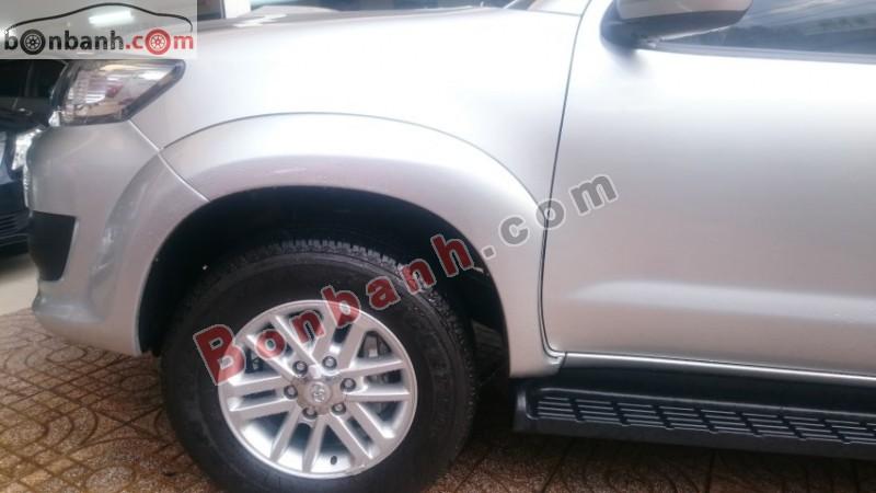 Xe Toyota Fortuner 2.5G 2014