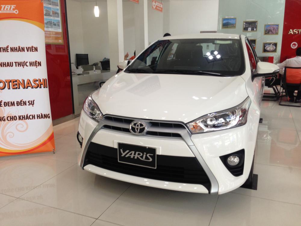 Xe Toyota Yaris G 2016