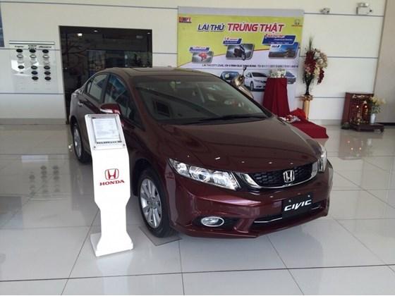Xe Honda Civic 2.0 AT 2016