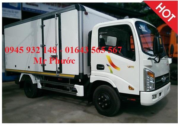 Bán xe tải Veam VT252 2T4 thùng kín