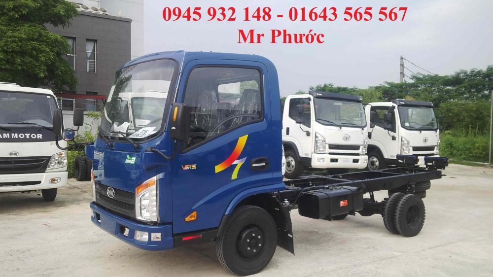 Xe tải Veam VT150 1.5 tấn màu xanh động cơ Hyundai, xe tải Veam 1t5 tặng trước bạ 100%