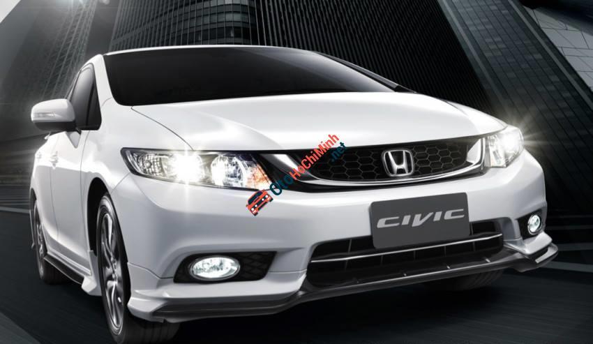 Bán ô tô Honda Civic 1.8 MT số sàn đời 2014, màu trắng
