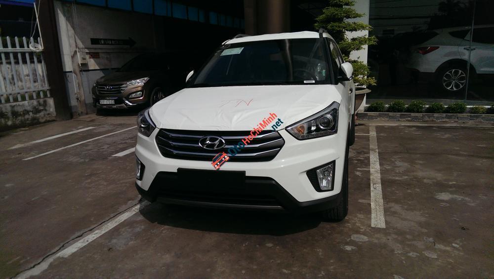 Bán Hyundai Creta 2016, màu trắng, nhập khẩu chính hãng