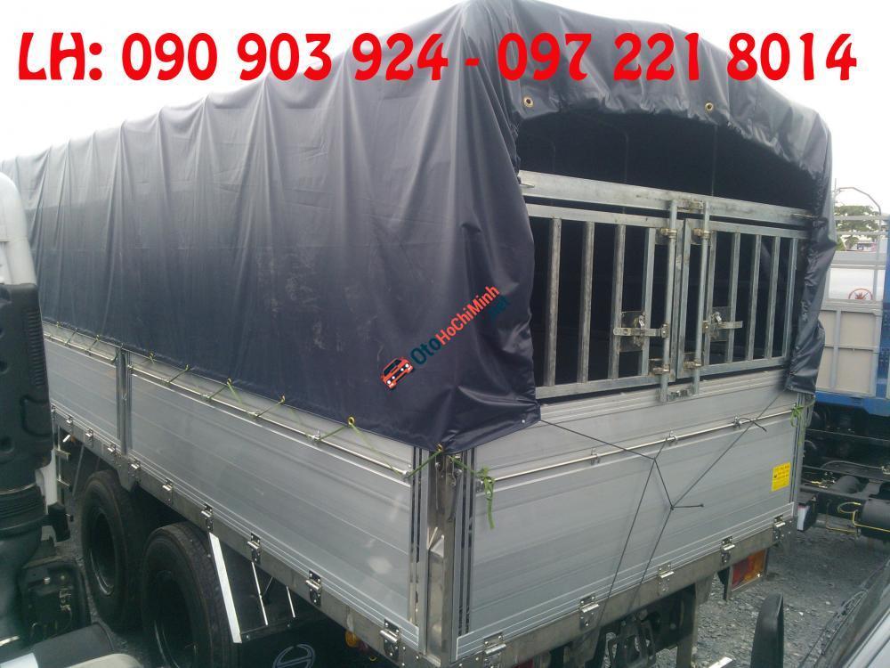 Bán xe tải Hino 3 chân 15 tấn thùng dài, giá xe tải Hino 3 chân thùng dài trả góp