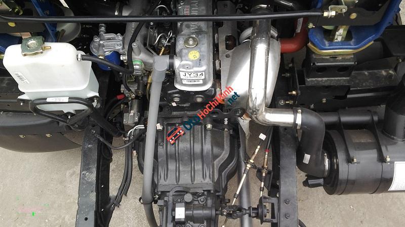 Bán xe tải Veam VT750 tải trọng 7T5 động cơ Hyundai, xe có điều hoà, kính điện