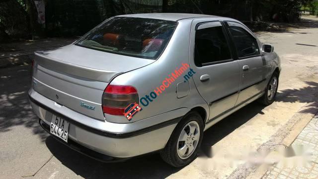 Cần bán Fiat Siena HLX 1.6 2003, màu bạc