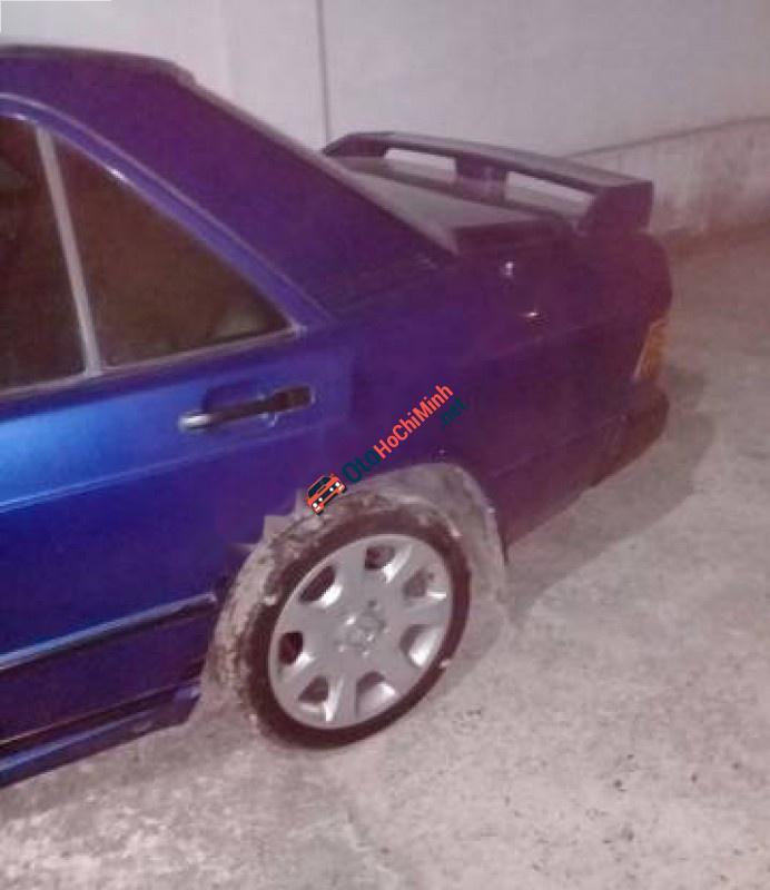 Bán Mercedes 190 đời 1990, màu xanh lam, nhập khẩu nguyên chiếc, giá chỉ 49 triệu