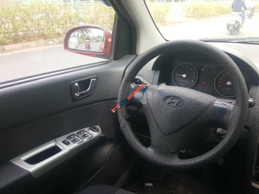 Cần bán xe Hyundai Getz 1.1 MT đời 2007, màu đỏ, xe nhập giá cạnh tranh