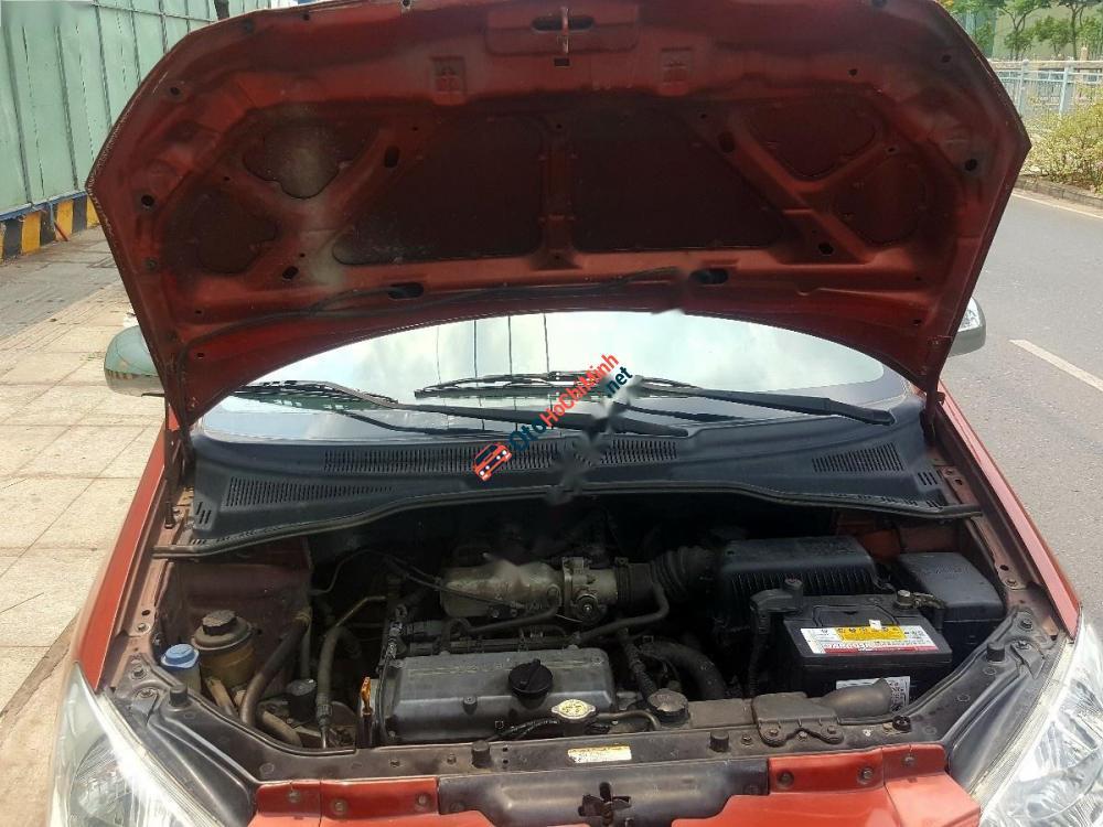 Bán Hyundai Getz 1.1MT đời 2007, màu đỏ, xe nhập, giá chỉ 225 triệu