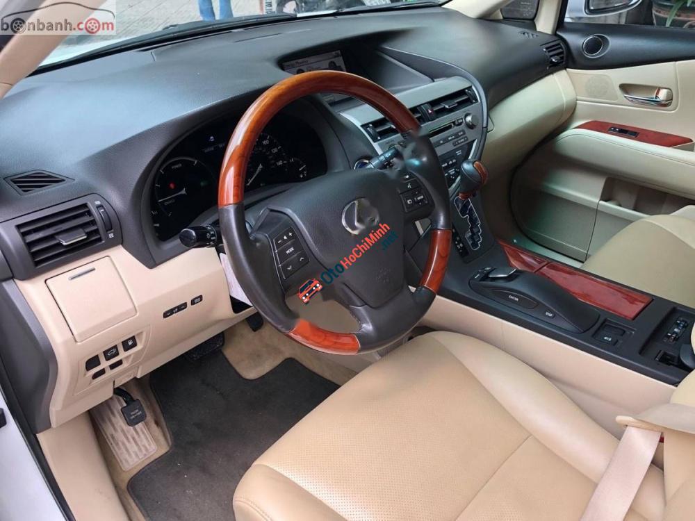 Bán xe Lexus RX 450H sản xuất 2010, màu trắng, xe nhập