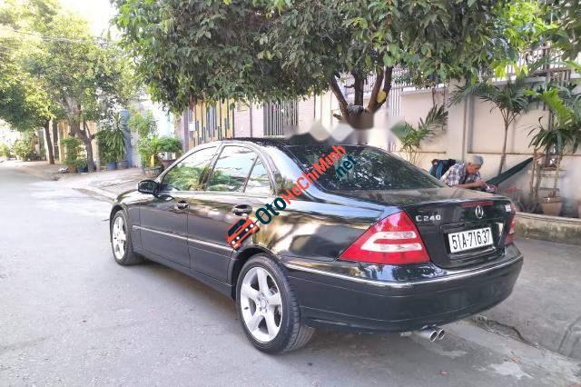 Bán Mercedes C240 đời 2005, màu đen, nhập khẩu nguyên chiếc giá cạnh tranh