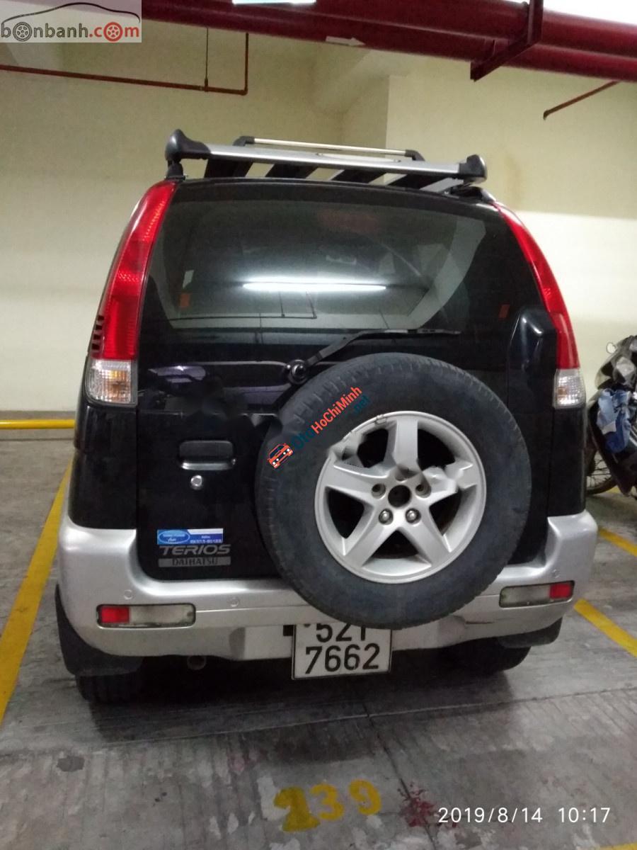 Cần bán lại xe Daihatsu Terios 1.3 4x4 MT 2005, màu đen, xe nhập