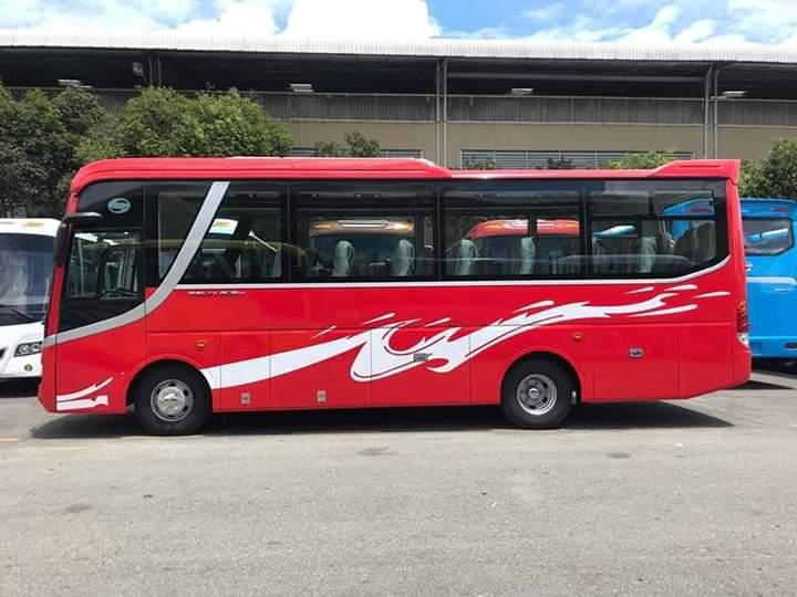 Xe Samco Isuzu 29/34 ghế thái máy bền tiết kiệm nhiên liệu