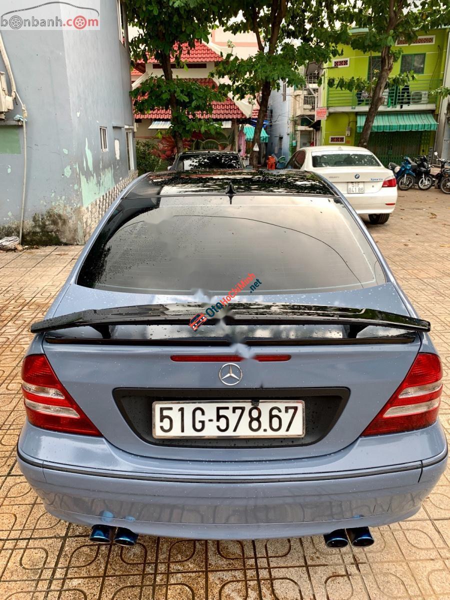 Bán Mercedes C280 sản xuất 2005, màu xanh lam, nhập khẩu nguyên chiếc