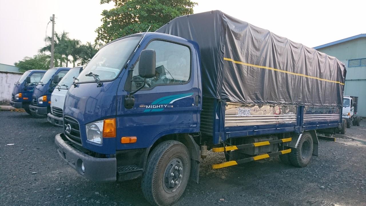 Bán ô tô Hyundai Mighty 110XL-7T thùng 6,3m
