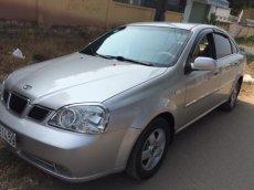 Cần bán Daewoo Lacetti MT đời 2005, màu bạc