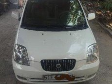 Bán Kia Morning MT sản xuất 2008, màu trắng đã đi 85000 km