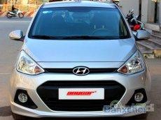 Tp Hồ Chí Minh: Bán ô tô Hyundai i10 Grand 1.0MT đời 2014, màu bạc số sàn, giá tốt chỉ 402 triệu
