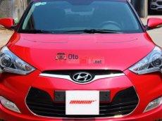 Cần bán Hyundai Veloster GDI 1.6AT đời 2011, màu đỏ, nhập khẩu, số tự động