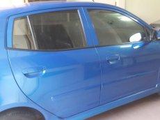 Cần bán xe Kia Morning SX AT sản xuất 2011, màu xanh lam chính chủ, giá chỉ 315