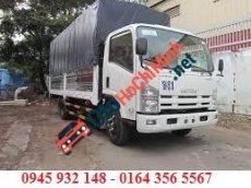Xe tải ISUZU 3.5 tấn thùng mui bạt giao xe ngay, tặng trước bạ 100%
