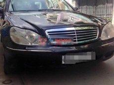 Xe Mercedes 320 đời 2001, màu đen, nhập khẩu chính hãng, số tự động, giá 470tr