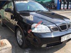 Bán xe Daewoo Lacetti EX đời 2004, màu đen chính chủ, giá 240tr