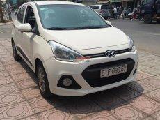 Cần bán gấp Hyundai i10 Grand 1.2AT đời 2014, màu trắng, nhập khẩu chính hãng, số tự động, giá tốt