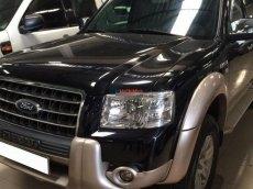 Cần bán lại xe Ford Everest 4x2 MT đời 2007, màu đen, số sàn