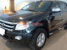 Cần bán Ford Ranger XLT đời 2012, màu đen, xe nhập, số sàn