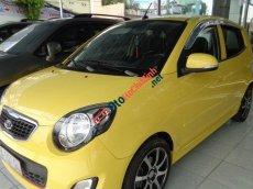 Salon Auto Tuấn Thanh Tùng cần bán gấp Kia Morning SX AT 2011, màu vàng, 330tr