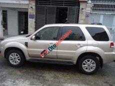 Bán Ford Escape 2.3 XLS đời 2011, màu vàng còn mới, giá 600tr