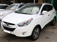 Bán ô tô Hyundai Tucson đời 2014, màu trắng số tự động