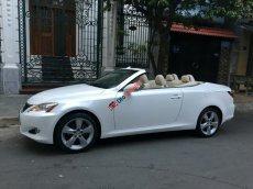Cần bán Lexus IS 250C đời 2009, màu trắng, xe nhập