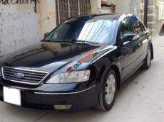 Cần bán xe Ford Mondeo 2.5 V6 đời 2004, màu đen