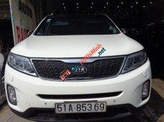 Cần bán xe Kia Sorento AT đời 2014, màu trắng, giá tốt