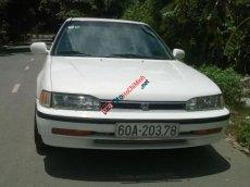 Cần bán Honda Accord LX đời 1992, màu trắng