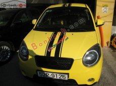 Cần bán xe Kia Morning SLX đời 2008, màu vàng, nhập khẩu chính hãng, giá tốt