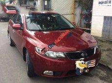 Cần bán lại xe Kia Forte MT đời 2011, màu đỏ chính chủ, giá chỉ 398 triệu