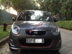 Cần bán lại xe Kia Morning Sport đời 2011, màu xám