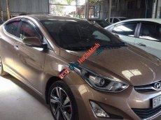 Bán Hyundai Elantra 1.6AT đời 2015, màu nâu, nhập khẩu