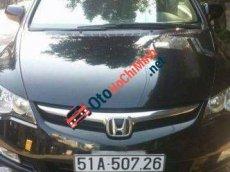 Cần bán xe Honda Civic MT đời 2008, màu đen