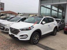 Bán Hyundai Tucson 2.0AT 2WD đời 2017, màu trắng, nhập khẩu, thanh toán 15% nhận xe ngay không cần thế chấp