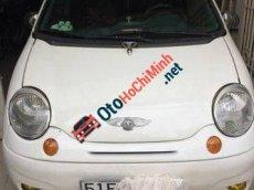 Bán Daewoo Matiz MT đời 2004, màu trắng số sàn