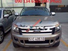 Cần bán lại xe Ford Ranger XLS MT đời 2014, màu vàng, nhập khẩu Thái Lan số sàn