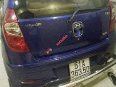 Bán xe cũ Hyundai i10 1.2AT đời 2011, màu xanh lam, nhập khẩu