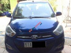 Cần bán Hyundai i10 1.2AT 2011, màu xanh lam, nhập khẩu chính hãng số tự động