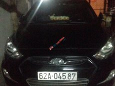 Bán Hyundai Accent VVT đời 2011, màu đen, xe nhập xe gia đình, giá tốt