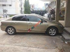 Cần bán xe Honda Civic 1.8 đời 2008, màu ghi vàng
