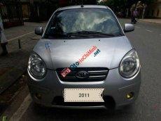 Bán ô tô Kia Morning MT sản xuất 2011, màu bạc số sàn
